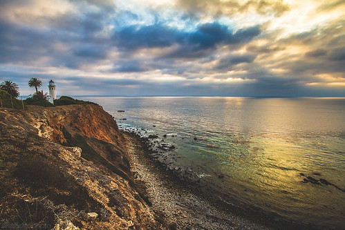 sunset palosverdes pointvincentelighthouse ©shabdrophoto