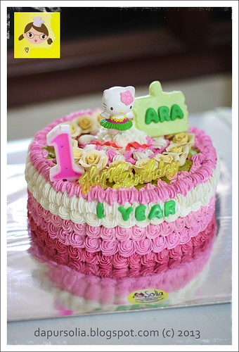 Hello Kitty Cake for Ara