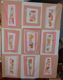 wonky rectangle quilt
