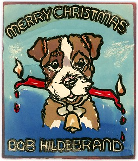 Merry Christmas, Bob Hildrebrand, 1955