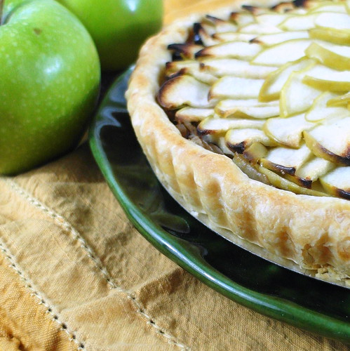 Savory Apple Onion Tart