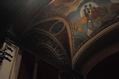 cinema mural theater theatre architecturaldetail uniontown uniontownpa