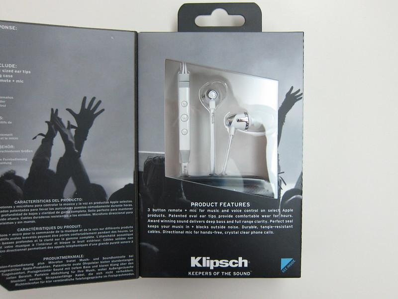 Klipsch Image S4i II - Box Open