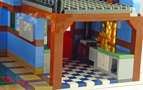LEGO 10229 Winter Village Cottage b10