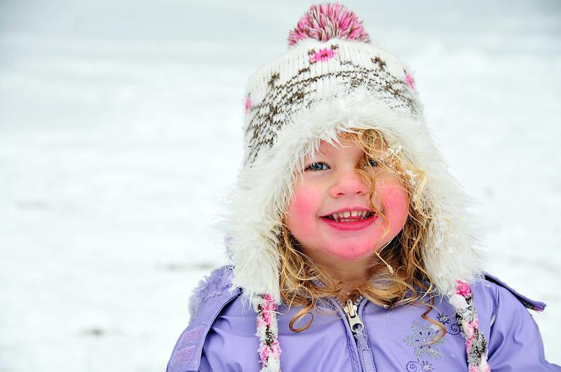 snow cheeks