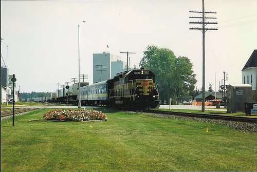 Northbound at Spencer, WI
