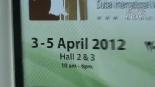 """ООО """"Санрайс"""" на международной выставке в ОАЭ, Дубай - Dubai WoodShow 2012"""