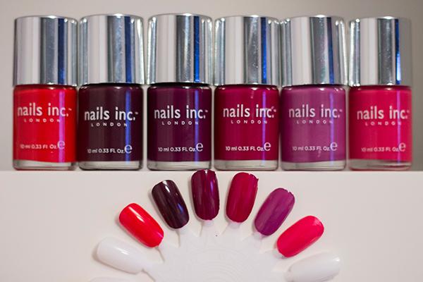 Nails Inc The Hurlingham, Nails Inc Savile Row, Nails Inc St Martin's Lane, Nails Inc Piccadilly Circus, Nails Inc Devonshire Row and Nails Inc Mali-Woo-Woo