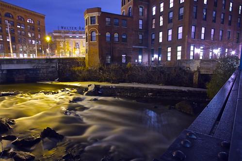 A River Runs through it.. by B.MacLean