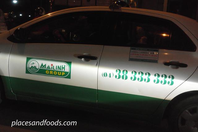 hanoi bizarre taxi malinh