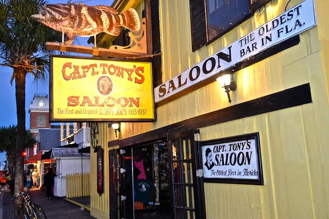 Key West, Florida- Captain Tony's Bar - entrance