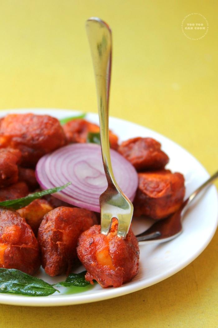Paneer 65 | Paneer Fry | Paneer Pakora | Indian Cottage Cheese Fry
