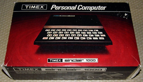 Vintage Timex Sinclair 1000 (TS1000) Personal Computer, A Modified Version of the Sinclair ZX81, Used A Form of BASIC As Its Primary Interface And Programming Language, Sold For $99.95, Circa 1982