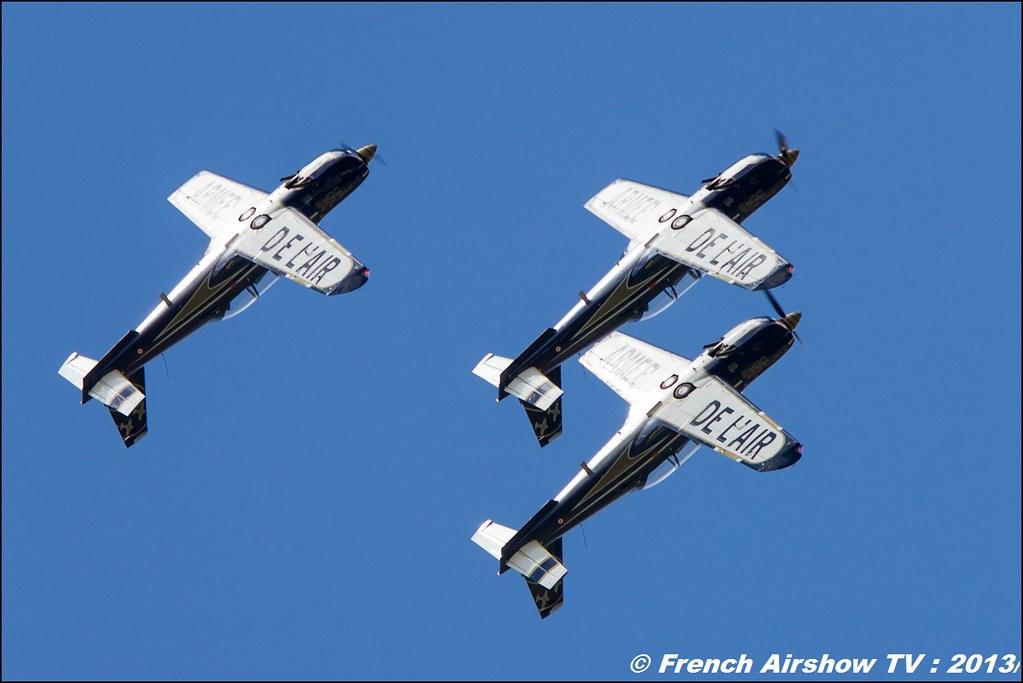Cartouche Doré 60 ans Patrouille de France, Meeting Aerien 2013