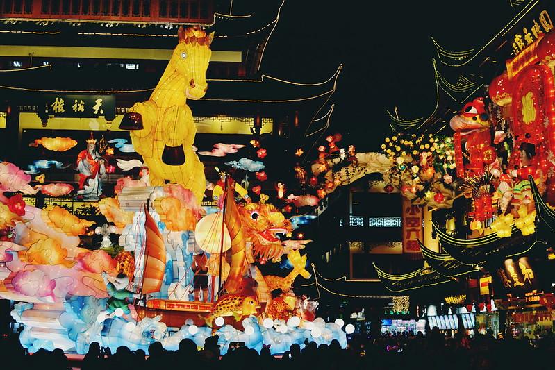 Lantern Festival in Shanghai Old Town