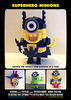 BricksBen - LEGO Despicable Me Superhero Minions - Batman Spiderman Hulk Superman - by Elspeth De Montes (azurebrick) - Movie Poster