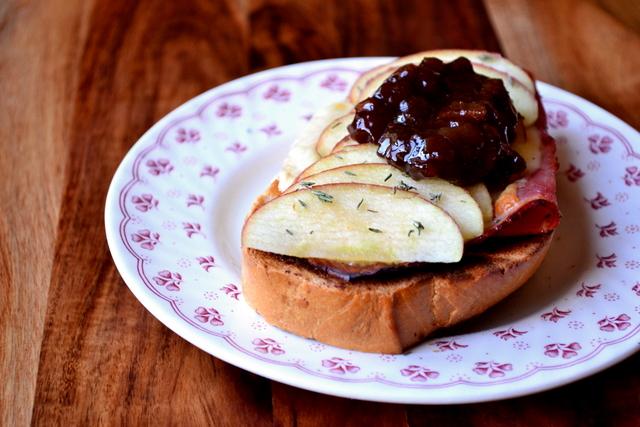 Ploughman's Toastie Recipe (3)