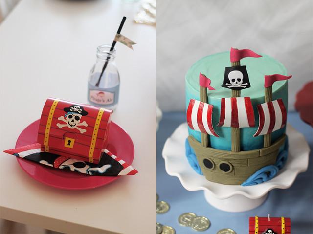 piratkalas nutellatårta dukning