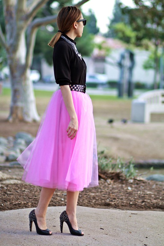 lucky magazine contributor,fashion blogger,lovefashionlivelife,joann doan,style blogger,stylist,what i wore,my style,fashion diaries,outfit,space 46 boutique,tulle skirt,satc,carrie bradshaw,crafted by talia,DYLANLEX,radiant orchid,pantone,spring trends