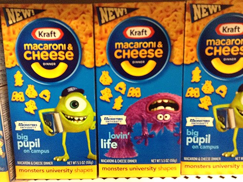 Kraft Macaroni and Cheese Monster's University