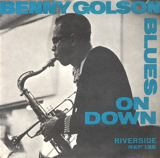 45 RPM - BENNY GOLSON SEXTET - A) Blues On Down Part 1 - B) Blues On Down Part 2 - (EP Riverside USA 1958)_A