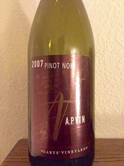 2007 A.P. Vin Garys' Vineyard Pinot Noir