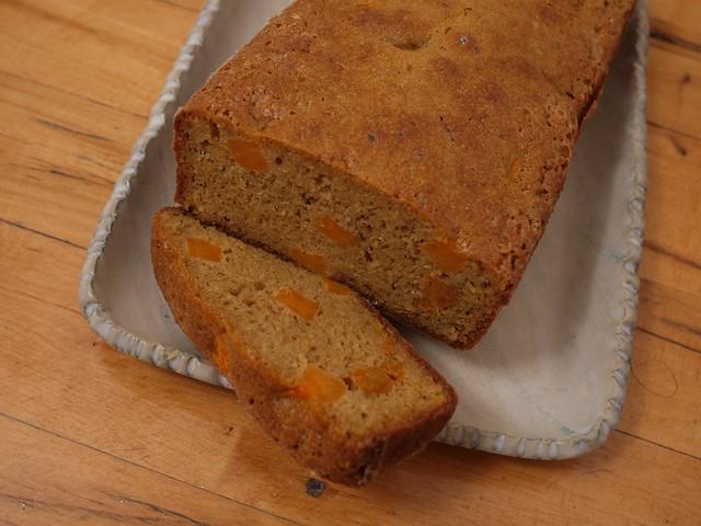 土, 2014-02-22 20:37 - スイートポテト(オレンジ)のパウンドケーキ