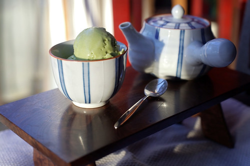 2-23-2014 Matcha (green tea) ice cream