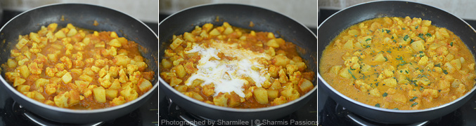 How to make aloo gobi - Step4