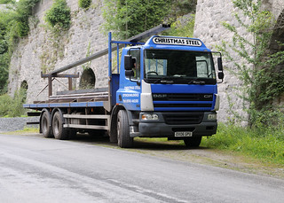 Christmas Steel DAF CF DX06GPU