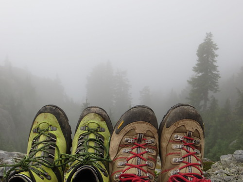 ca trees red canada green fog forest interesting kiss rocks bc view boots hiking britishcolumbia mtseymour unnusual