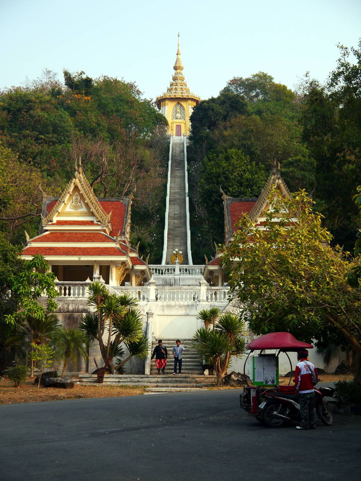 Hilltop temple in Thailand