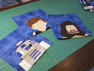 Paper Pieced Star Wars
