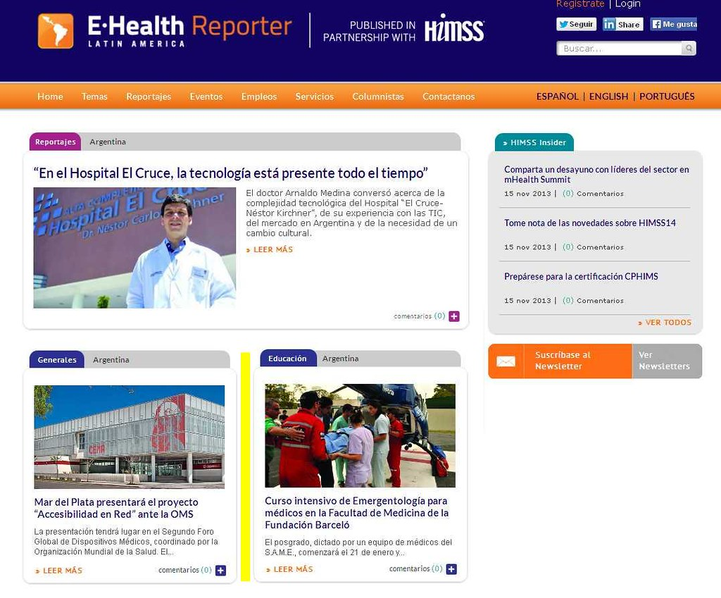 Site E-Health Reporter 09-12-13 (home)