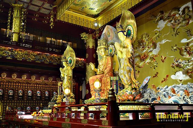 Buddha Maitreya Trinity