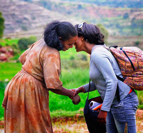 Greeting a Friend, Tigray