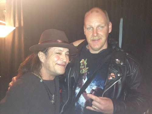 04/04/14 Jake E. Lee and Officer Metalhead @ Amityville, LI, NY (Officer Metalhead Photo003)