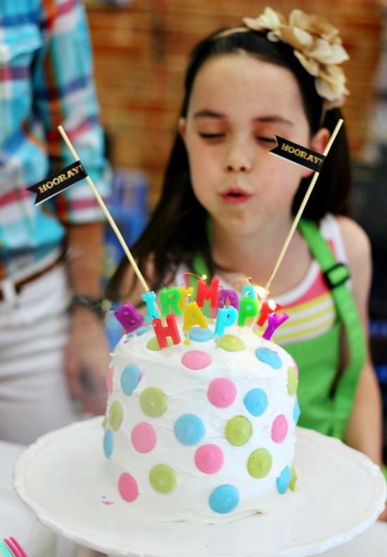 Hi Sugarplum | Polka Dot Art Party