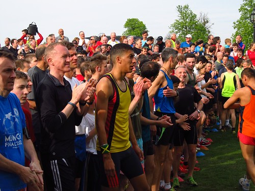 Runners toe the line for Bushy parkrun #513