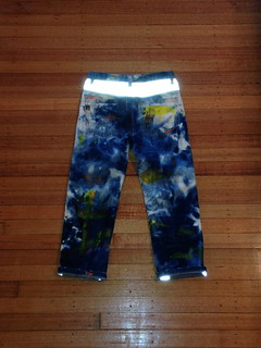 IBN JEANS - Painted & Reflective