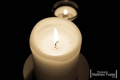decor, flameless candle, candle, white, light, lighting,