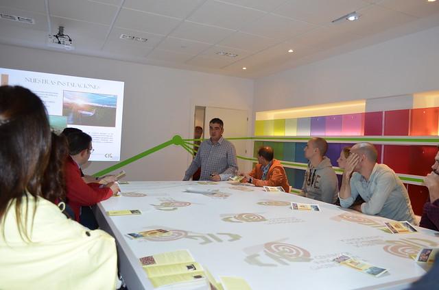 Presentación a los hosteleros de Salamanca de los productos de Caracoles Calvo en la sala de catas del Centro de Innovación Gastronómica.