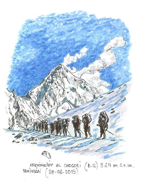 Pakistán. El K2. Chogori (8.611 m.s.n.m.)