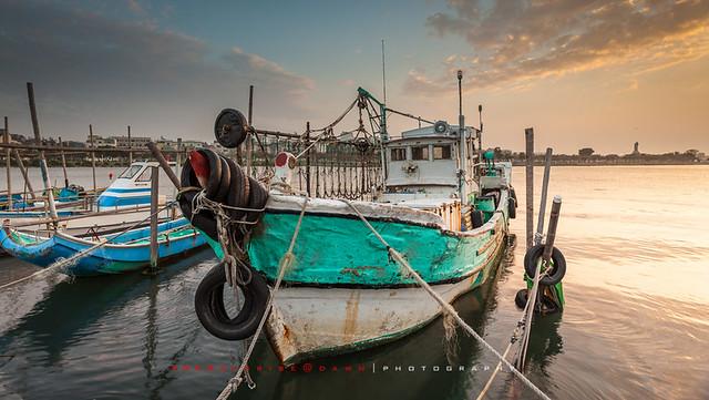 Boat at Golden Hour