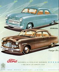 Ford Consul & Zephyr 6 (1950)