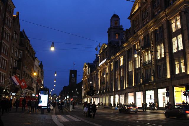 rue principale Amsterdam