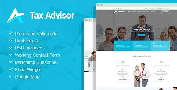 Tax Advisor WordPress Theme free download