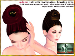 Bliensen - Lodger - Hair with roommates