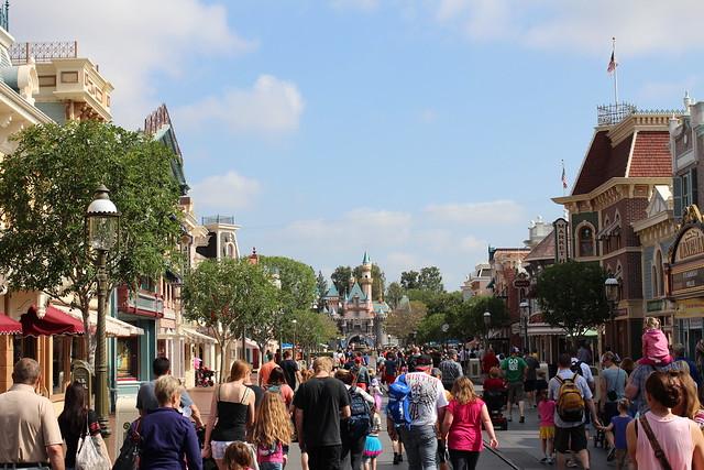Disneyland, May 2013