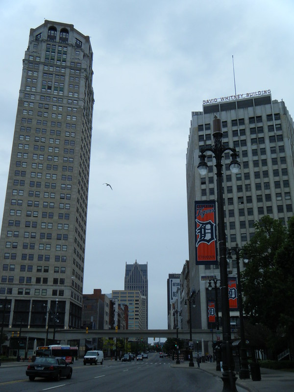 Broderick Tower and David Whitney Building after renovation